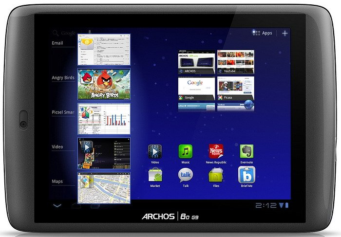 Планшет Archos 80 G9 Turbo 250GB
