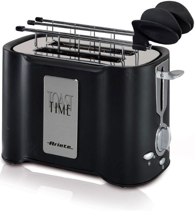 Тостер Ariete 124/1 Black Toast Time фото