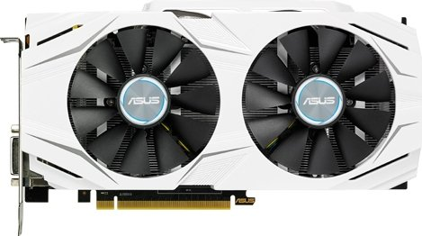 Видеокарта Asus DUAL-GTX1060-O6G GeForce GTX 1060 6Gb DDR5 192bit