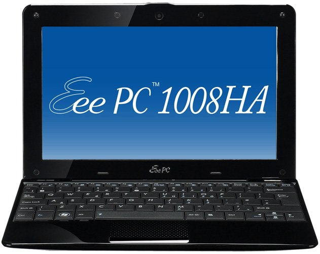 Нетбук Asus Eee PC 1008HA-BLK052S