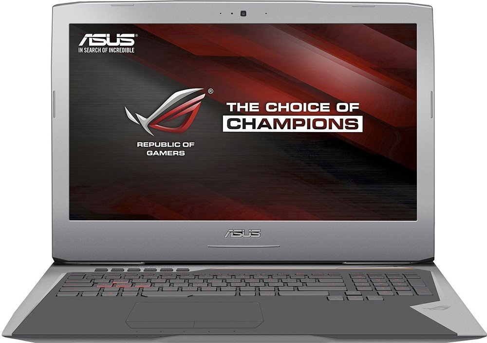 Ноутбук Asus G752VY-GC80T
