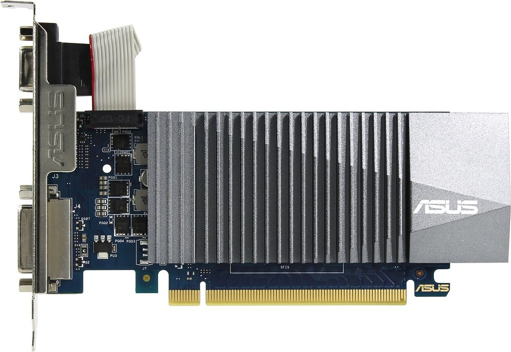 Видеокарта Asus GT710-SL-2GD5 GeForce GT 710 2Gb GDDR5 64bit фото