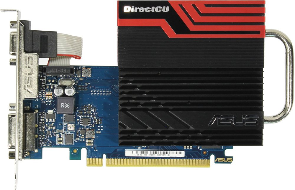 Видеокарта Asus GT720-DCSL-2GD3 GeForce GT 720 2Gb GDDR3 64bit