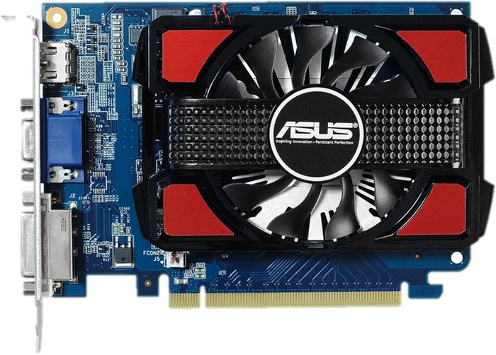 Видеокарта Asus GT730-2GD3 GeForce GT 730 2Gb GDDR3 128 bit  фото