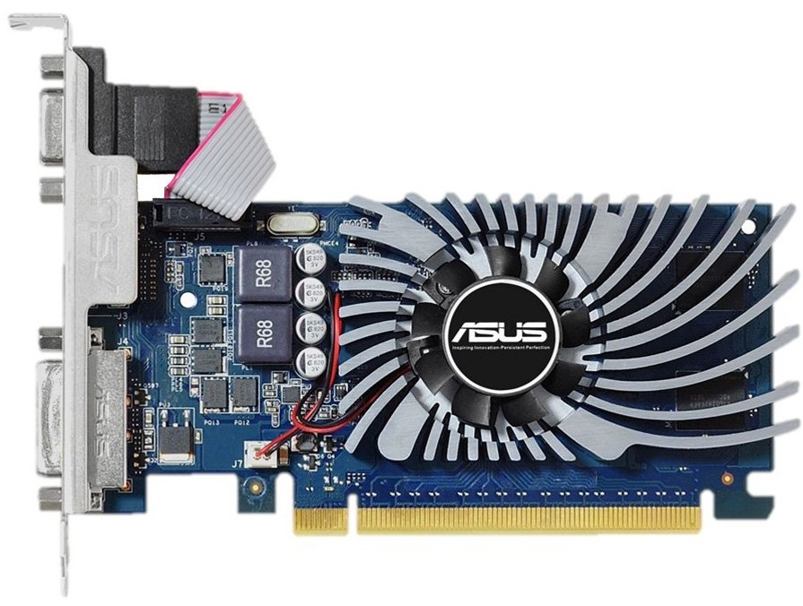 Видеокарта Asus GT730-2GD5-BRK GeForce GT 730 2Gb GDDR5 64 bit фото