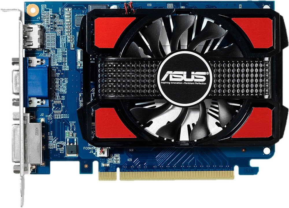 Видеокарта Asus GT730-4GD3 GeForce GT 730 4Gb GDDR3 128bit