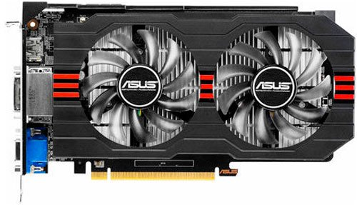 Видеокарта Asus GTX650TI-1GD5 GeForce GTX 650 Ti 1GB GDDR5 128bit