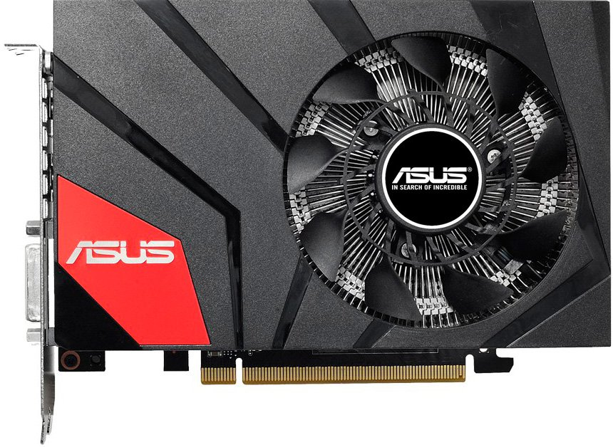 Видеокарта Asus GTX960-MOC-4GD5 GeForce GTX 960 4GB GDDR5 128bit