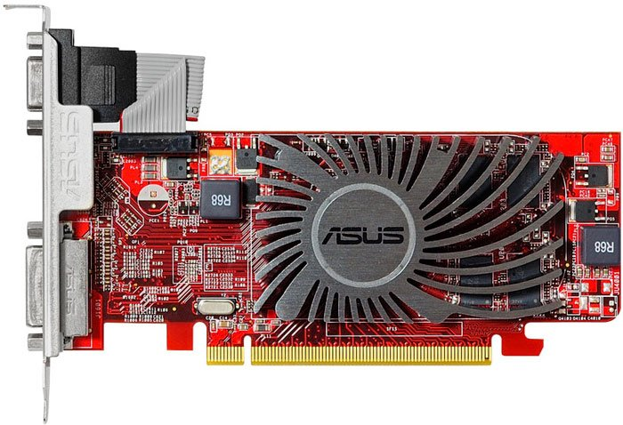 Видеокарта Asus HD5450-SL-2GD3-L Radeon HD 5450 2GB GDDR3 64bit