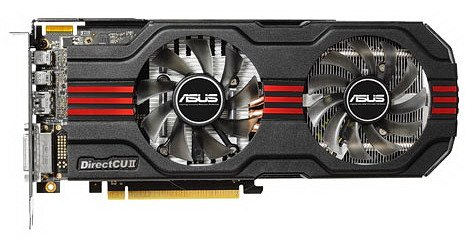 Видеокарта Asus HD7870-DC2-2GD5 Radeon HD 7870 2048Mb GDDR5 256 bit