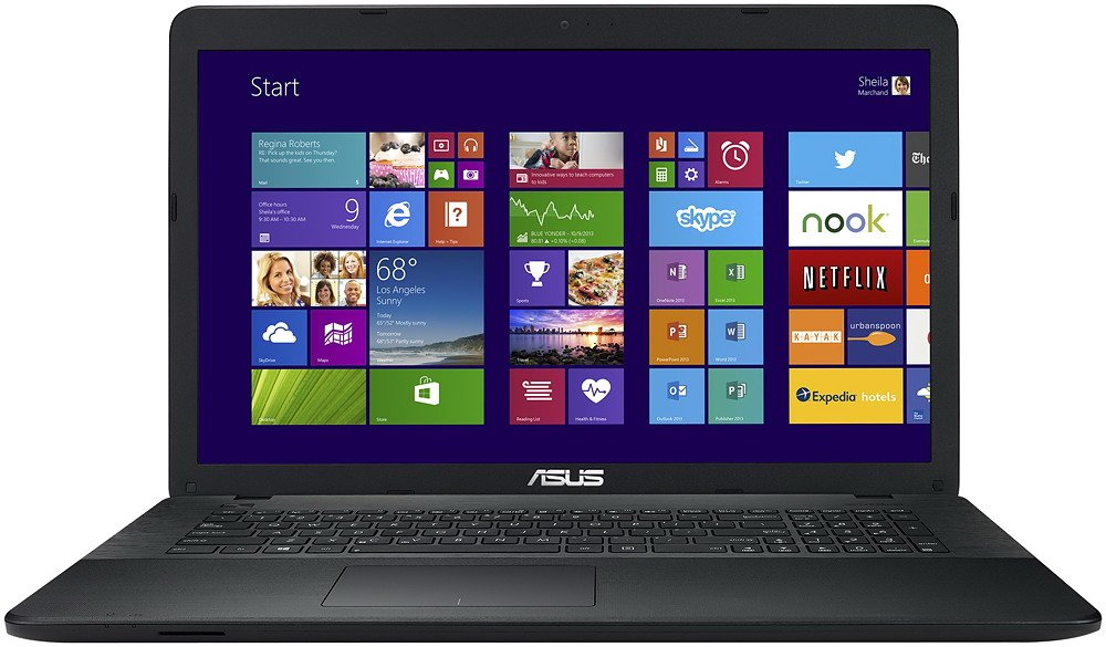 Ноутбук Asus R752MD-TY072D