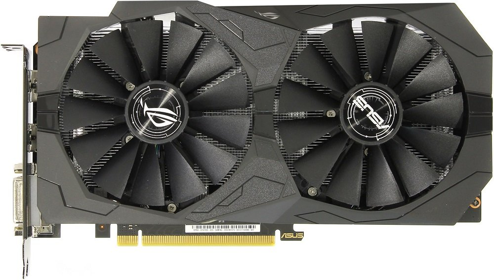 Видеокарта Asus ROG STRIX-GTX1050-O2G-GAMING GeForce GTX 1050 2Gb GDDR5 128bit фото