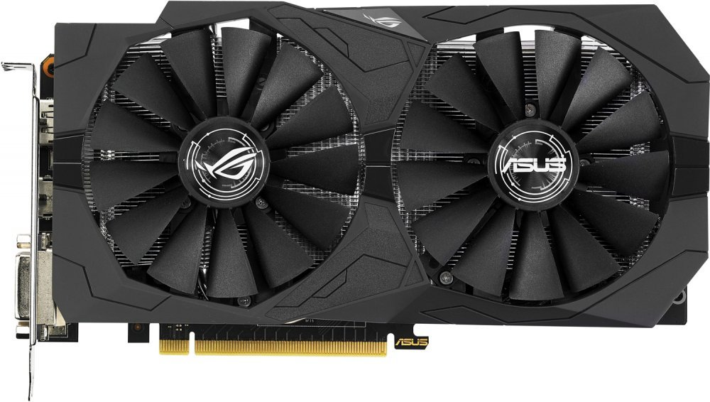 Видеокарта Asus ROG STRIX-GTX1050TI-4G-GAMING GeForce GTX 1050 Ti 4Gb GDDR5 128bit
