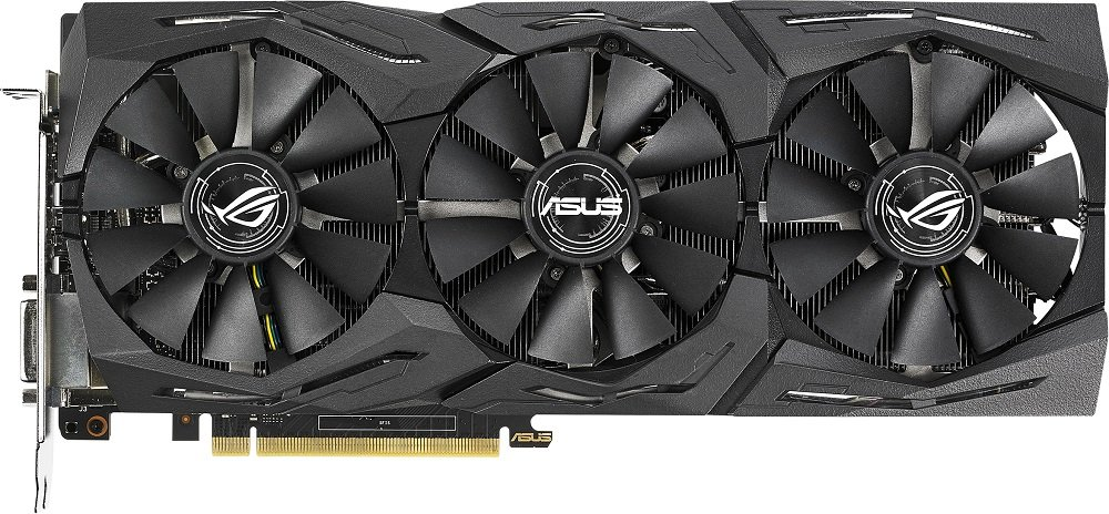 Видеокарта Asus ROG-STRIX-GTX1070TI-A8G-GAMING GeForce GTX 1070 Ti 8Gb GDDR5 256bit фото