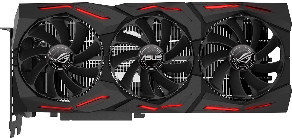 Видеокарта Asus ROG-STRIX-RTX2080-A8G-GAMING GeForce RTX 2080 8Gb GDDR6 256bit фото