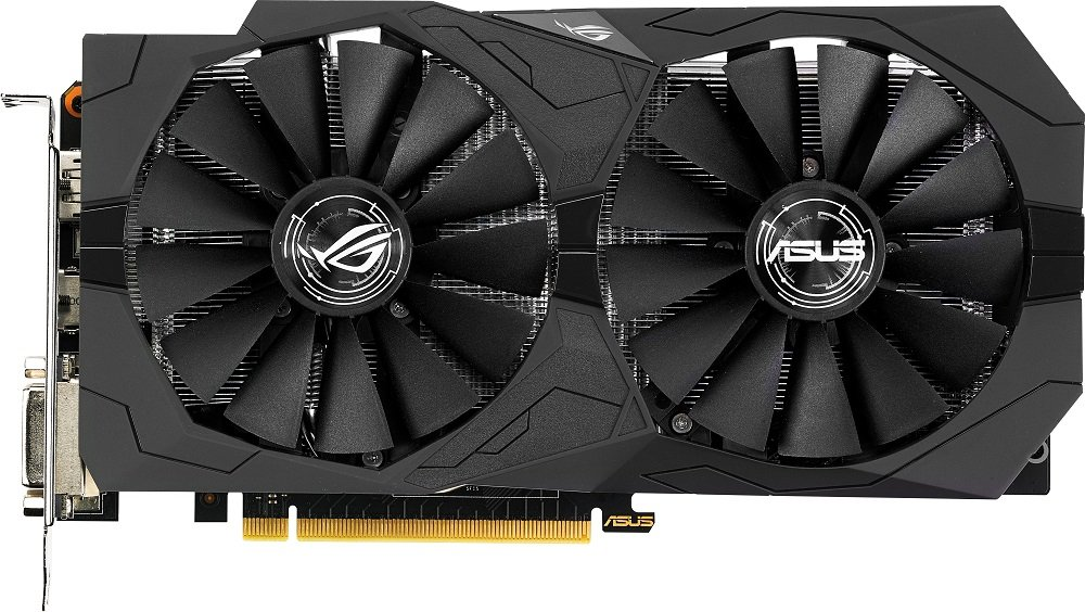 Видеокарта Asus ROG STRIX-GTX1050-2G-GAMING GeForce GTX 1050 2Gb GDDR5 128bit