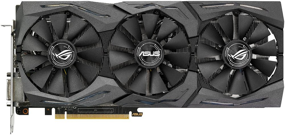 Видеокарта Asus STRIX-GTX1080-O8G-GAMING GeForce GTX 1080 8Gb GDDR5 256bit фото