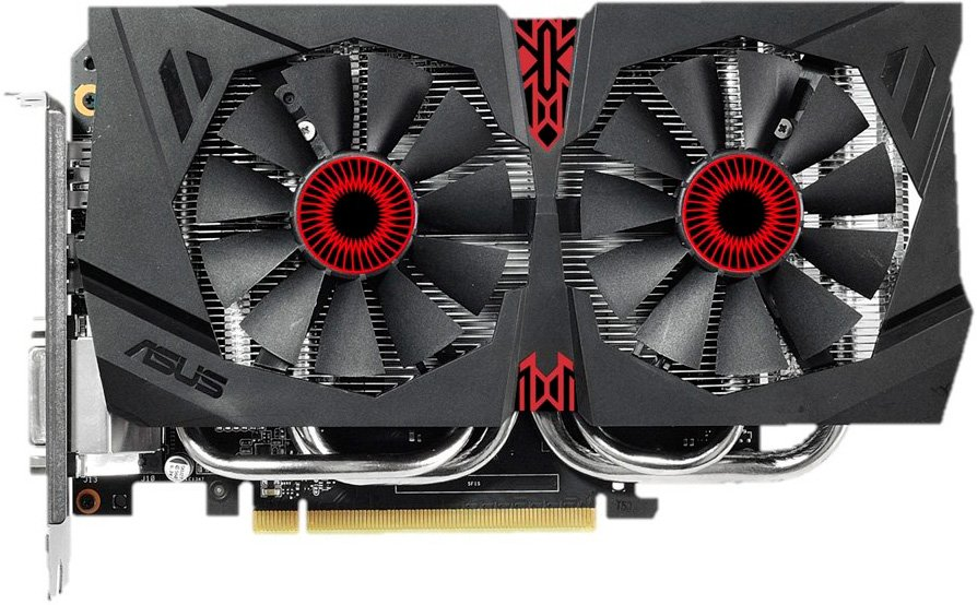 Видеокарта Asus STRIX-GTX960-DC2OC-4GD5 GeForce GTX 960 4096Mb DDR5 128bit