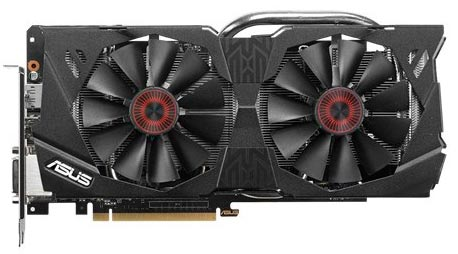 Видеокарта Asus STRIX-GTX970-DC2OC-4GD5 GeForce GTX 970 4096Mb GDDR5 256bit  фото