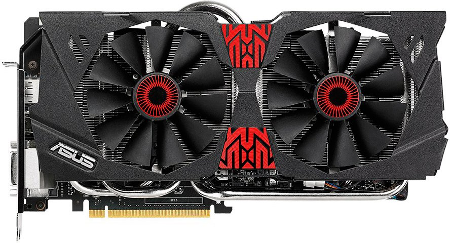 Видеокарта Asus STRIX-GTX980-DC2-4GD5 GeForce GTX 980 4096Mb GDDR5 256bit