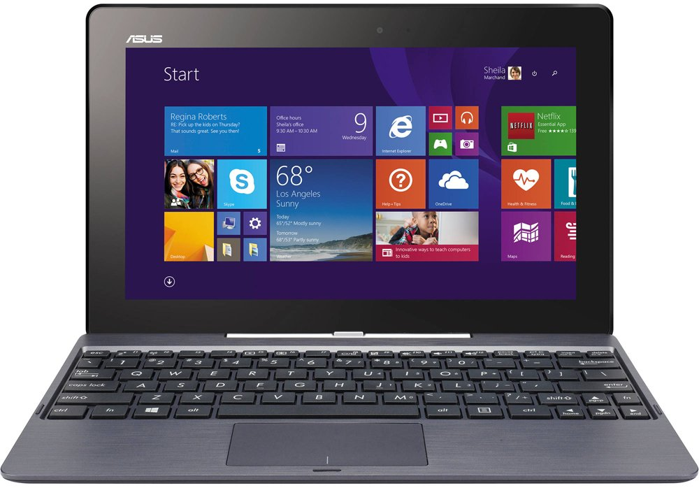 Ноутбук-трансформер Asus Transformer Book T100TAF-W10-DK076T 32GB Dock