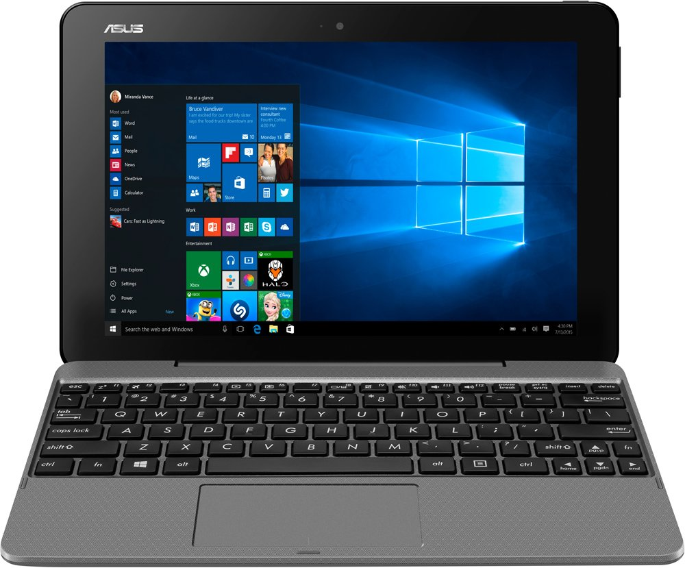 Ноутбук-трансформер Asus Transformer Book T101HA-GR001T 32GB Dock