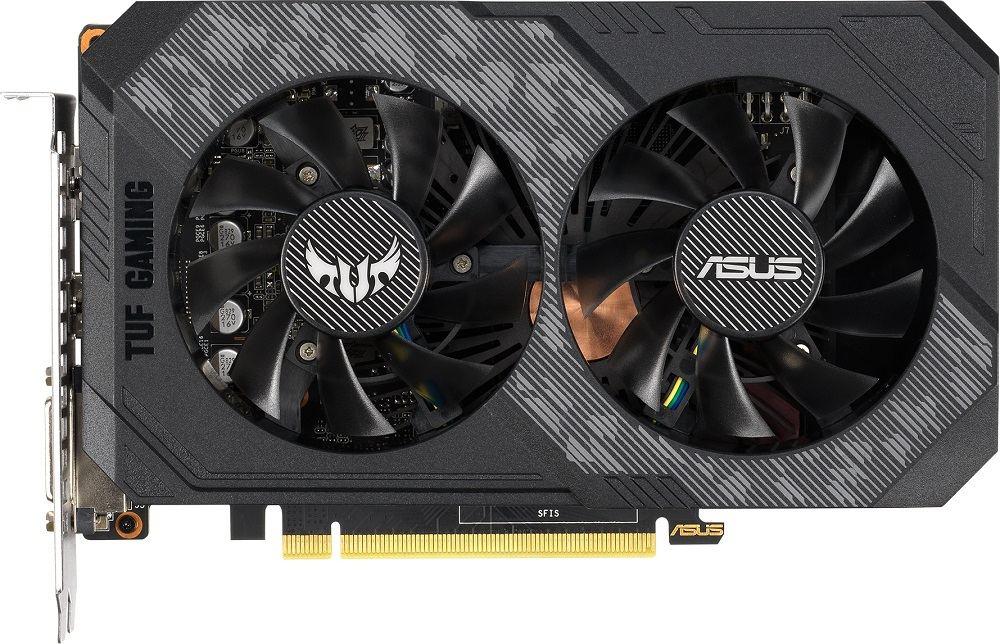 Видеокарта Asus TUF-GTX1660-6G-GAMING GeForce GTX 1660 6Gb GDDR5 192bit фото