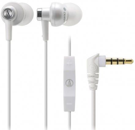 Гарнитура Audio-Technica ATH-CK400XP WH фото