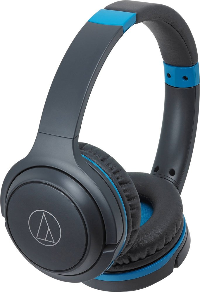 Гарнитура Audio-Technica ATH-S200BT Gray/Blue фото