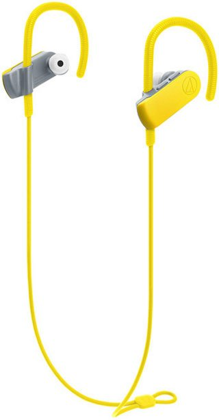Гарнитура <b>Audio</b>-<b>Technica ATH</b>-<b>SPORT50BT</b> Yellow купить ...