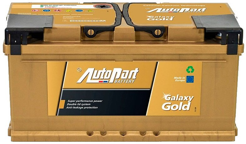 Аккумулятор AutoPart Galaxy Gold R+ (102Ah)