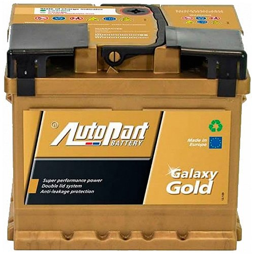 Аккумулятор AutoPart Galaxy Gold R+ (52Ah)