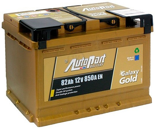 Аккумулятор AutoPart Galaxy Gold R+ (82Ah)
