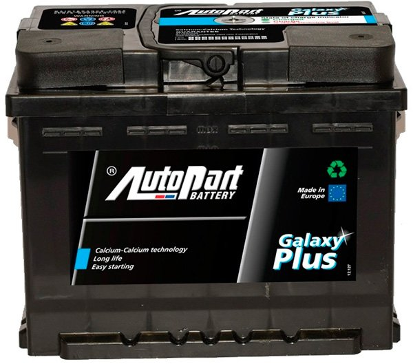 Аккумулятор AutoPart Galaxy Plus AP660 (66Ah) фото