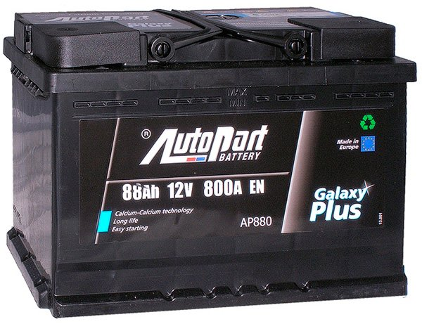 Аккумулятор AutoPart Galaxy Plus AP880 (88Ah)