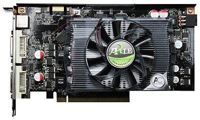 Видеокарта Axle GeForce 9600GT 512mb 256bit