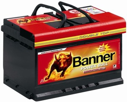 Аккумулятор Banner Power Bull P6205 Double Top (62Ah)