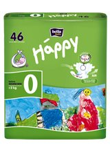 Подгузники BELLA baby Happy 0 before NEWBORN (