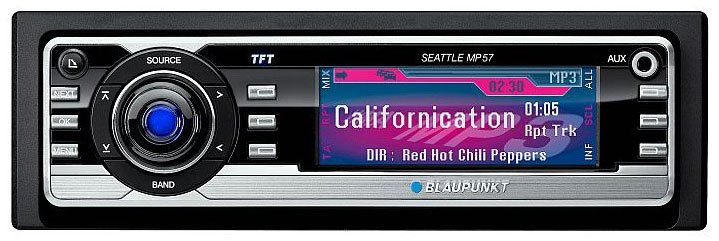 Автомагнитола Blaupunkt Seattle MP57
