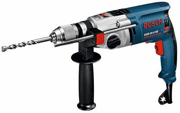 Ударная дрель Bosch GSB 20-2 RE Professional