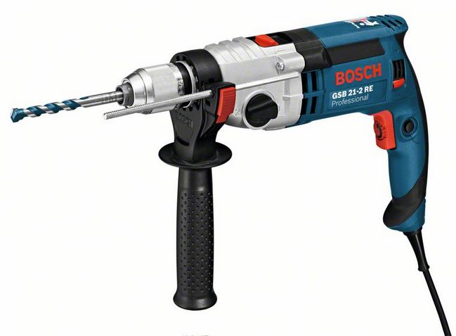 Дрель ударная Bosch GSB 21-2 RE Professional (0.601.19C.500) фото