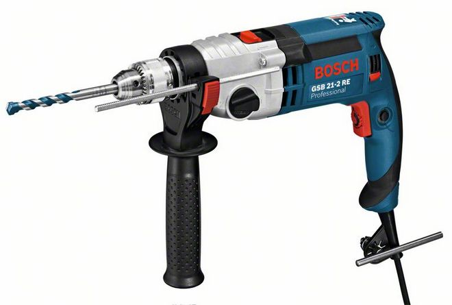 Дрель ударная Bosch GSB 21-2 RE Professional (0.601.19C.600)