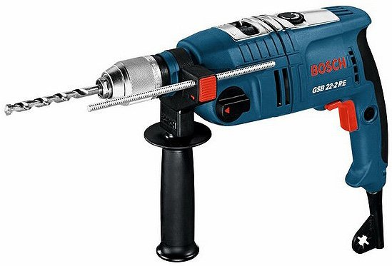 Ударная дрель Bosch GSB 22-2 RE Professional