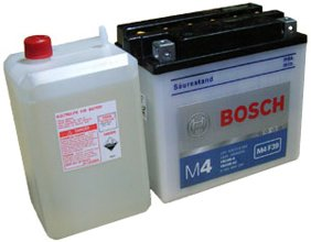 Аккумулятор Bosch M4 Fresh Pack M4F40 516016012 (16Ah) фото