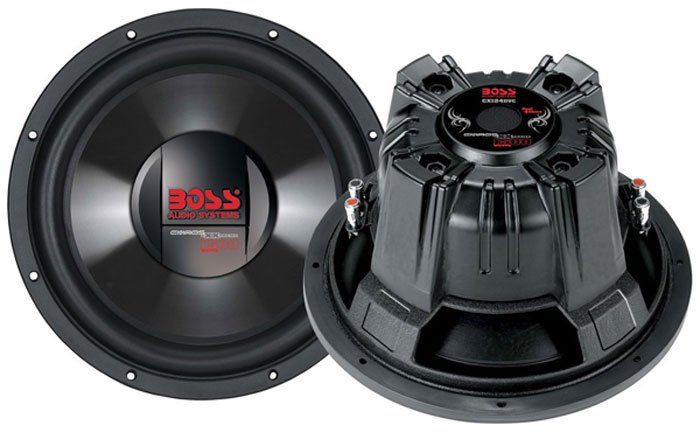 Сабвуфер Boss Audio CX124DVC