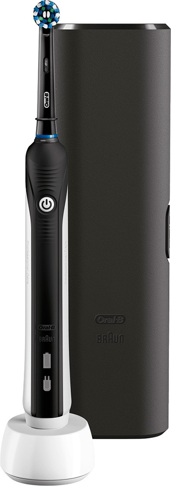 Зубная щетка Braun Oral-B Pro 750 Cross Action Black Edition (D16.513.UX) фото
