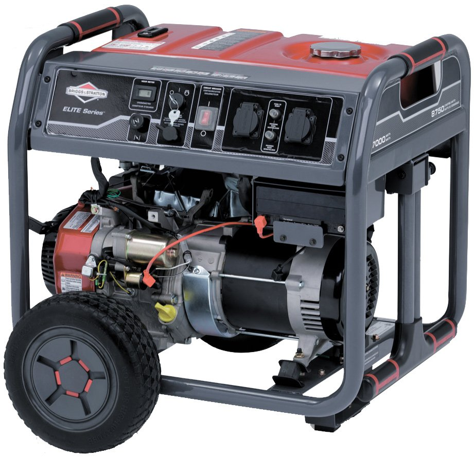 Бензиновый генератор Briggs&Stratton Elite 7500EA фото