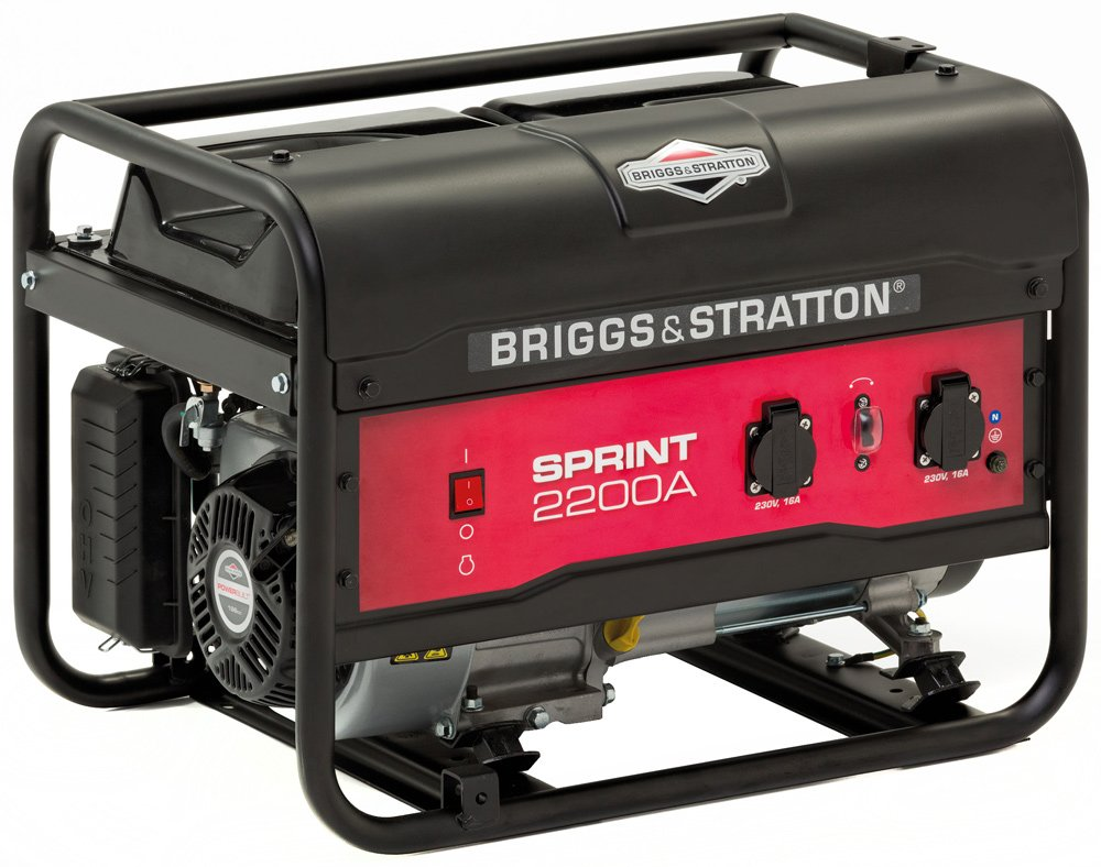 Бензиновый генератор Briggs&Stratton Sprint 2200A фото