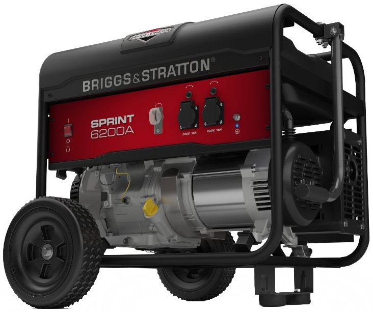 Бензиновый генератор Briggs&Stratton Sprint 6200A фото