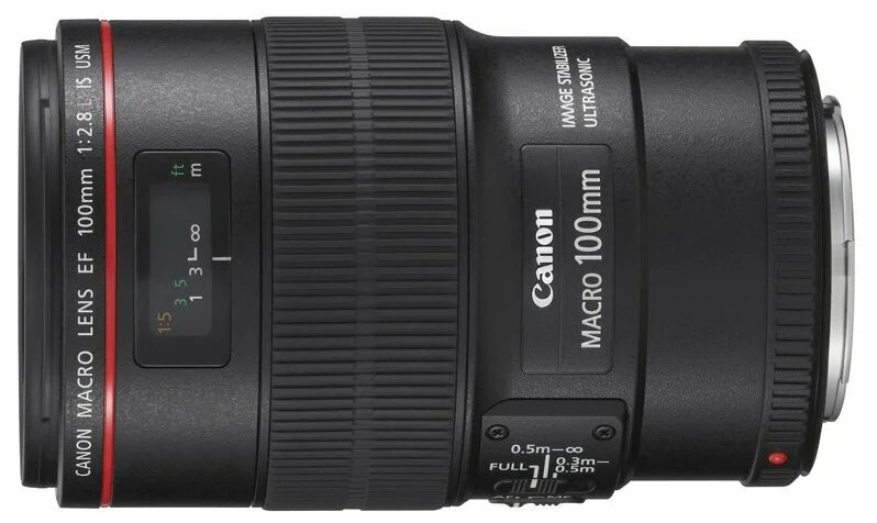 �������� Canon EF 100mm f/2.8L Macro IS USM